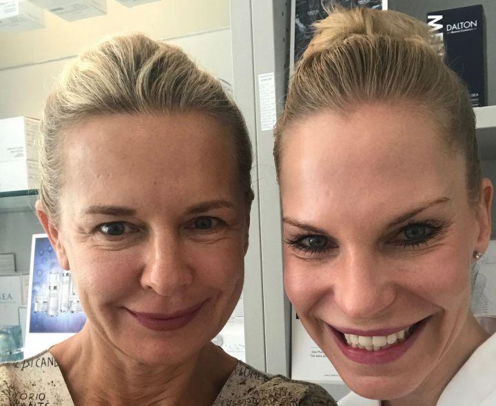 Kosmetikbehandlung für Frauen ab 50 kosmetikblog schokoladenjahre  Stylingtipps by Bibi Horst