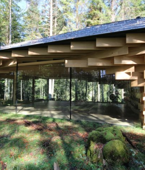 Kranzbach's Meditation House… ein architektonisches 'Piece of Art' mitten im Wald