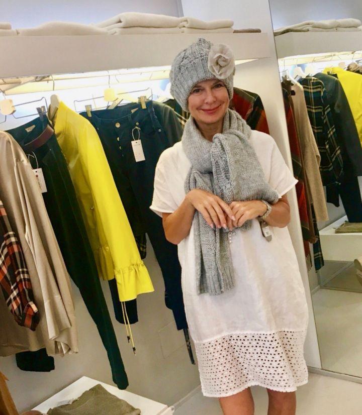 die verrückte Bibi Horst auf Shoppingtour in Italien