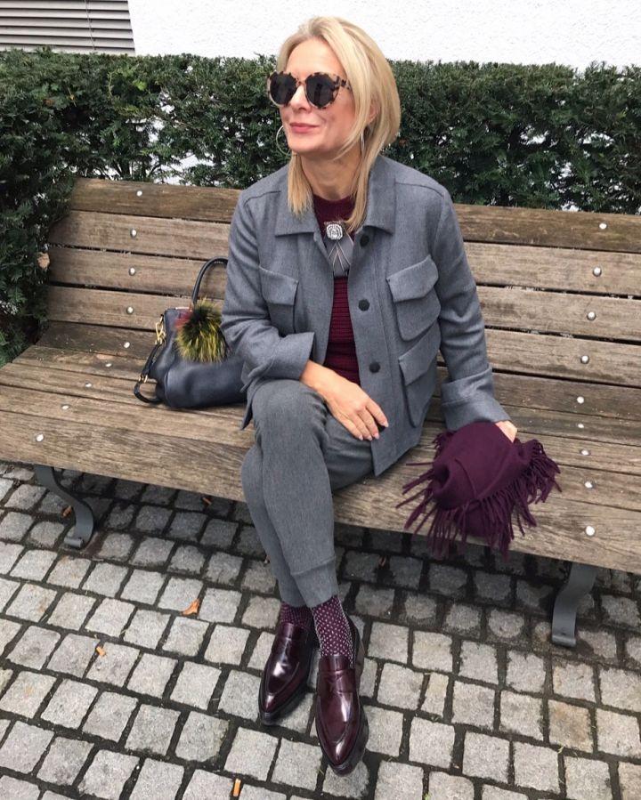 modische stylingtipps by Bibi Horst für den Herbst 2018 für Frauen ab 40