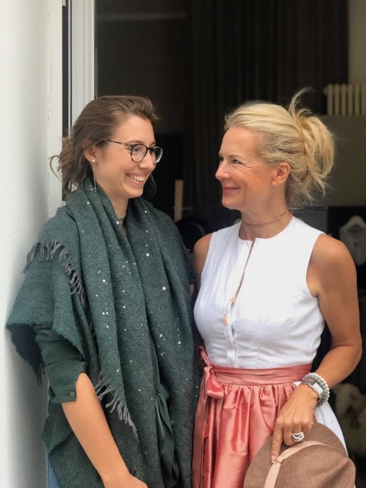 Schal Trends für den Winter 2018 von der Bloggerin Bibi Horst