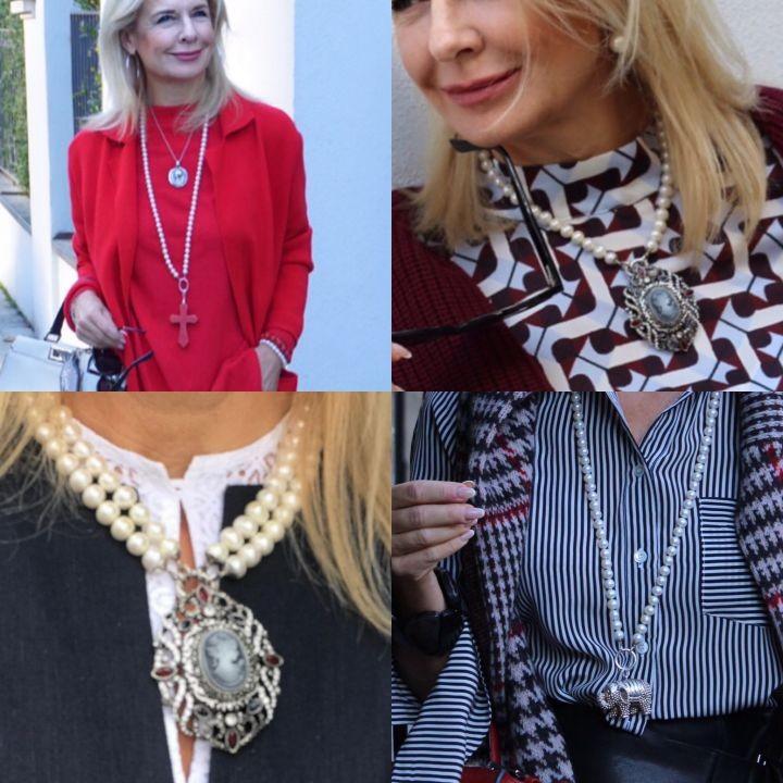 Stylingtipps für Halsketten von der Bloggerin Bibi Horst