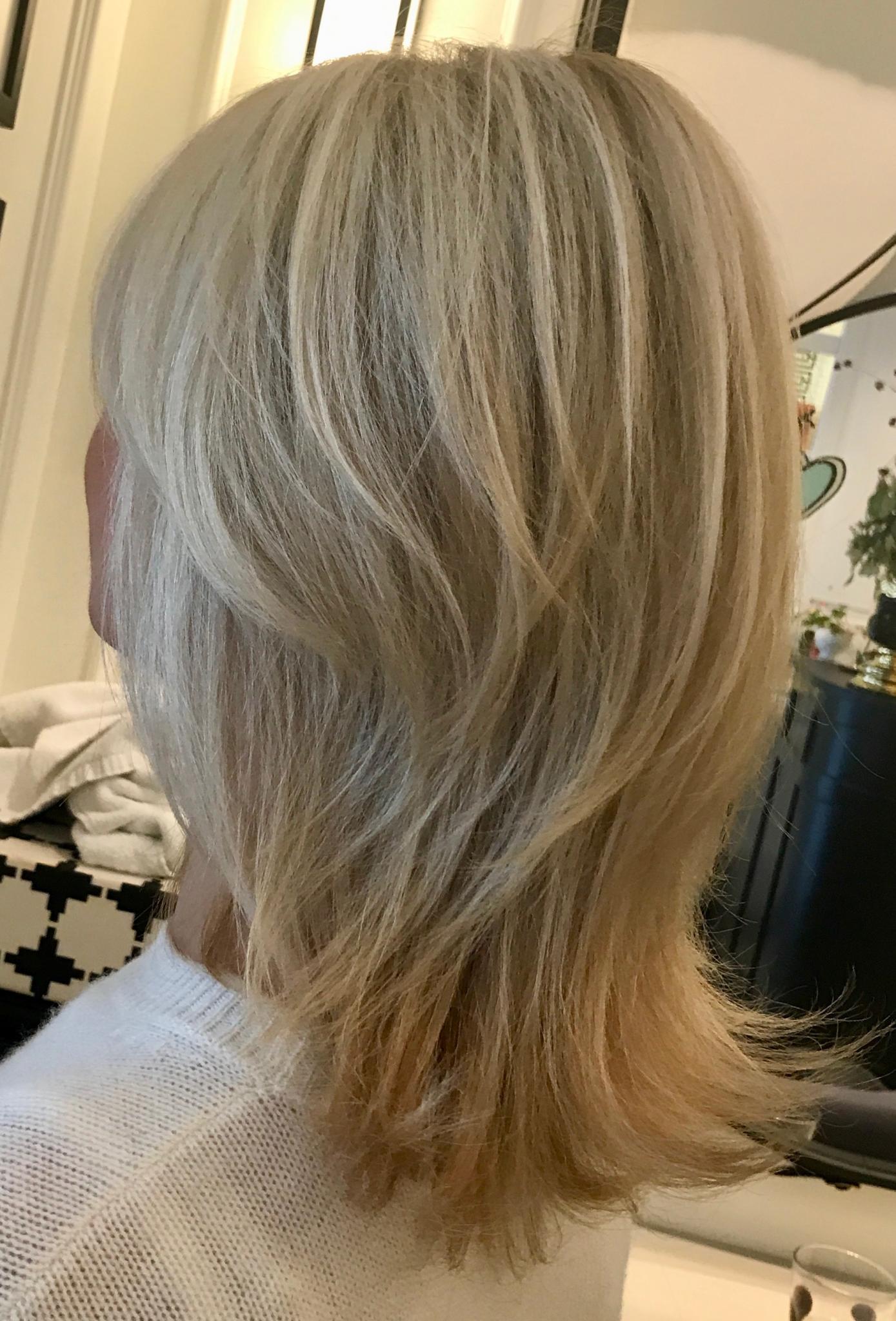 blonde strähnen 2018