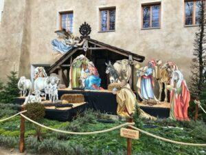 Bibi und ihr Blog Schokoladenjahre wünschen 'Frohe Weihnachten'...