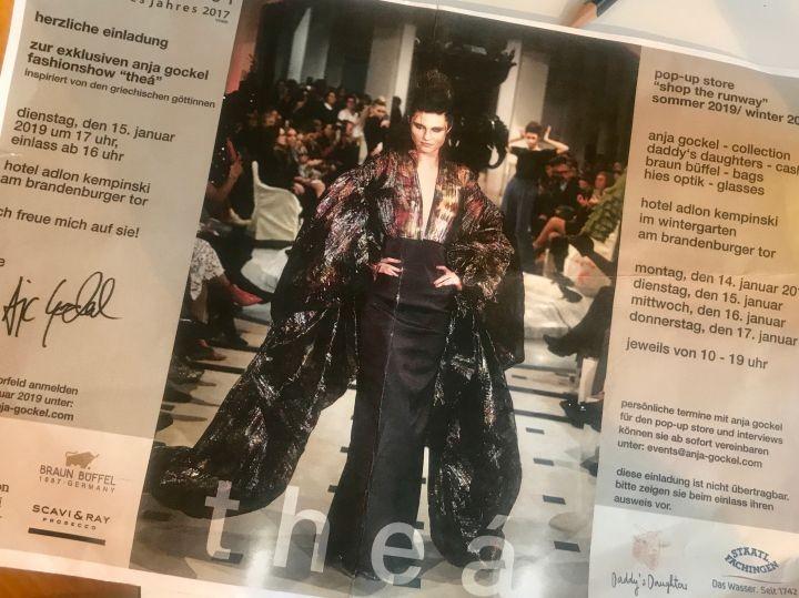 Die Modewelt trifft sich im Adlon und die Bloggerin Bibi Horst berichtet über ihre Tage im Adlon während der Berliner Fashion Week.