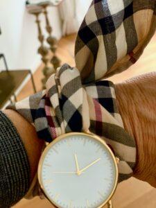 Bibi Horst's Eigenkreation, eine Twilly Uhr