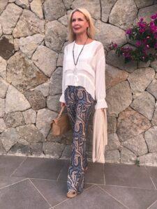 Leinen in vielen Variationen gestylt von der Styleexpertin und Influencerin Bibi Horst für Frauen ab 40.