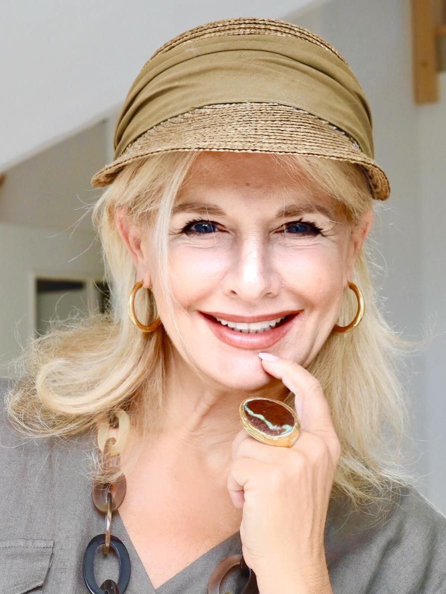 Die Stilexpertin Bibi Horst und ihre Liebe zur Kopfbedeckung