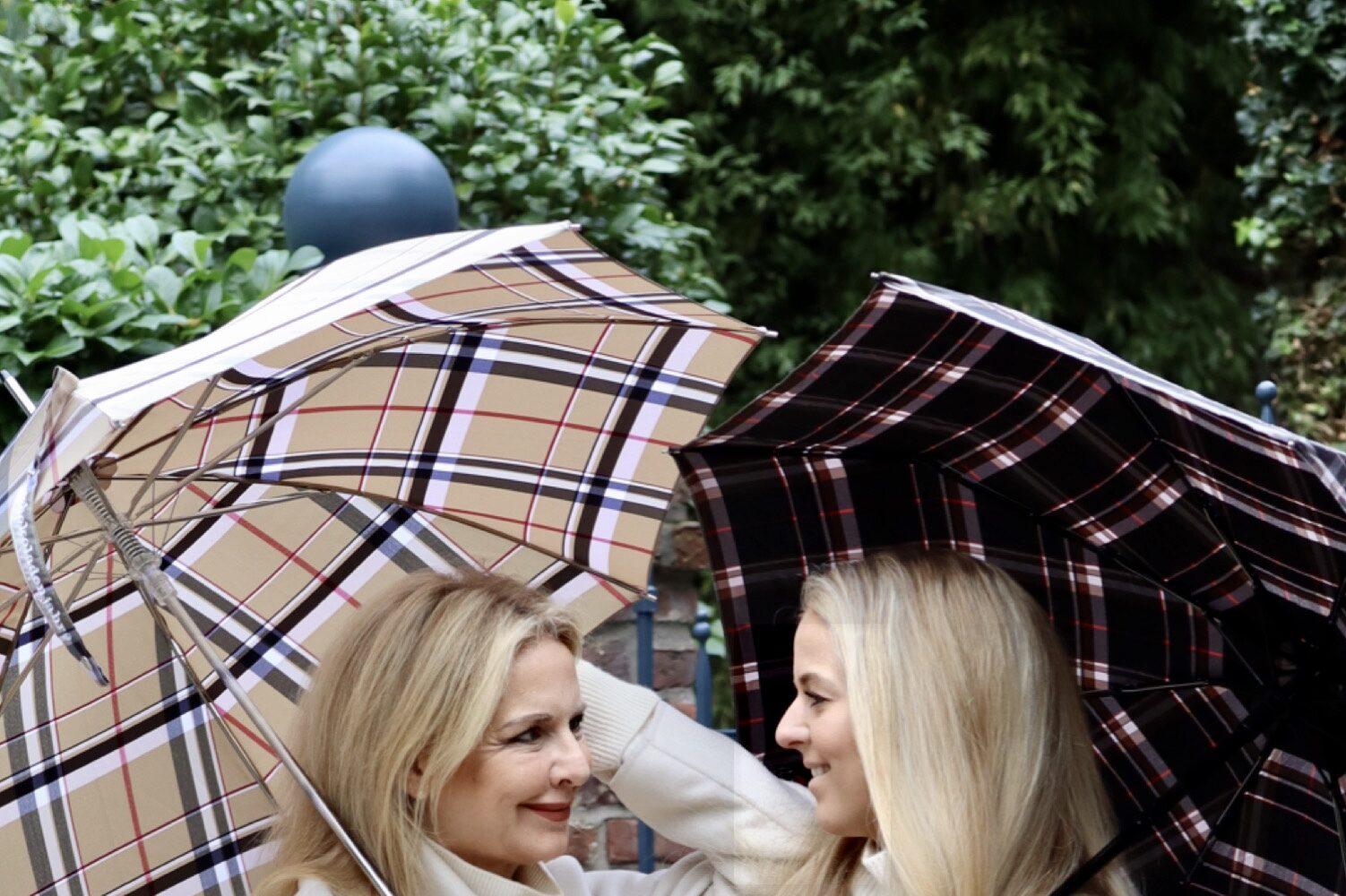 Endlich einen Regenschirm auch für Sylter Winde