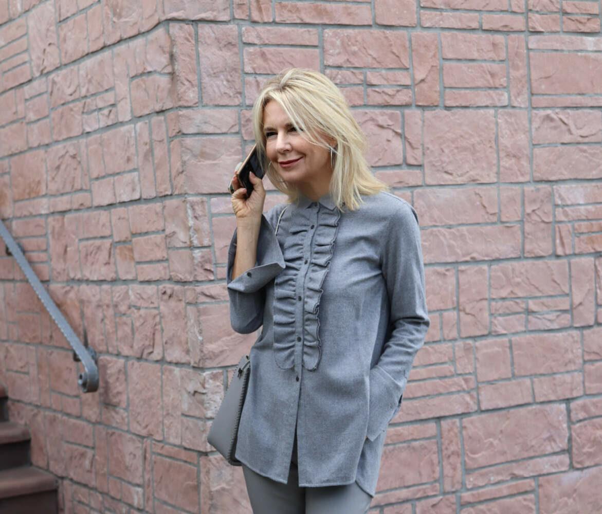 Leder in meinen Looks… immer mit einem Hauch klassischer Eleganz!