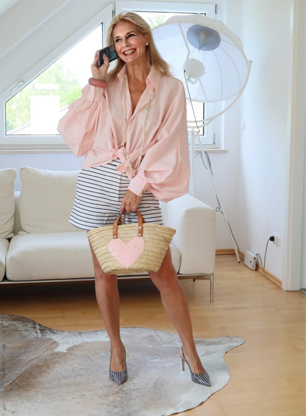 Shorts tragen mit 50+? Stilexpertin Bibi Horst sagt ja!
