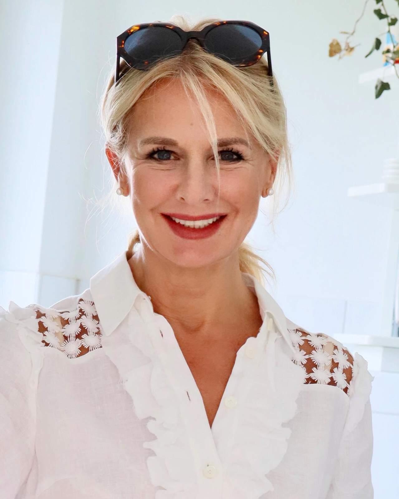 Stilexpertin Bibi Horst berichtet über ihre Liebe zu Weiß